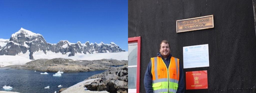 Callum provides electrical support in Antarctica