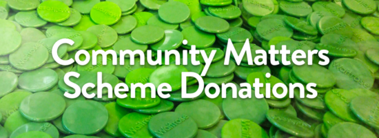FIMNT receives £158.91 from our Green Tokens Scheme