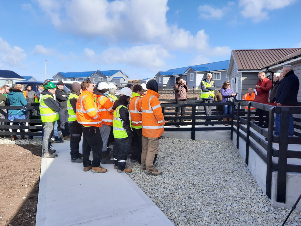 Last government house in Sapper Hill Phase 5 housing development complete