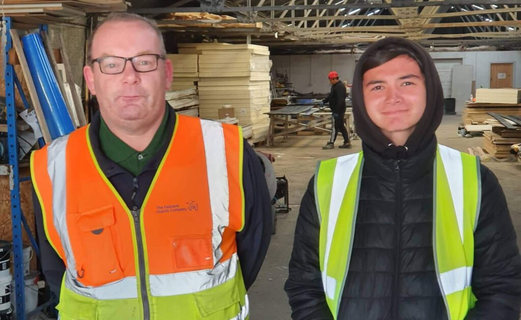 Kieran Joins Plumbing Department for Work Experience