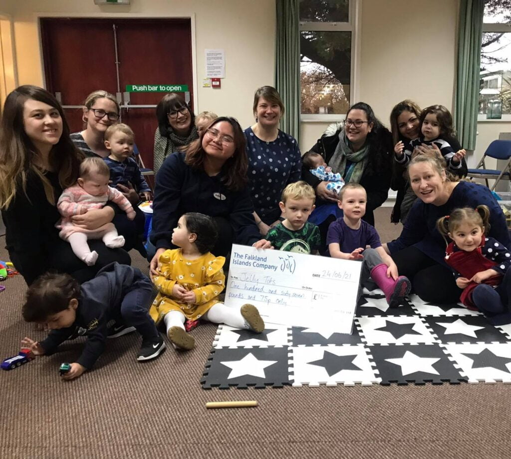 Jelly Tots Receives £167.75 Donation from Community Matters Scheme