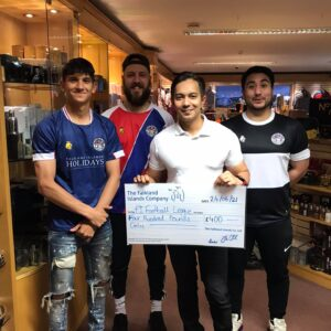 FIC Sponsors the Falkland Islands Football League