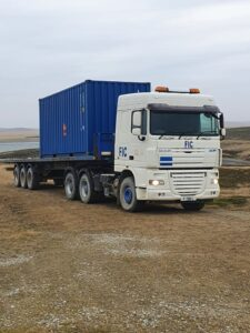 Haulage & Groundworks Awarded Contract by ICRC and FIG