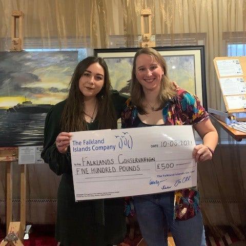 FIC Donates £500 to Falklands Conservation