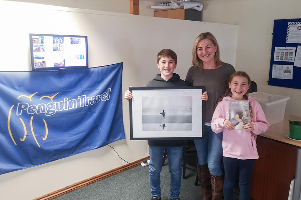 Charlie Wins Penguin Travel's Competition at Tourism Expo